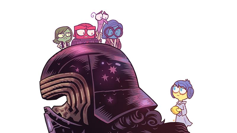 Star Wars. The last Jedi Disney