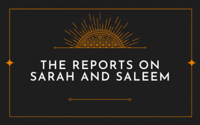 The reports on Sarah and Saleem [FILM]