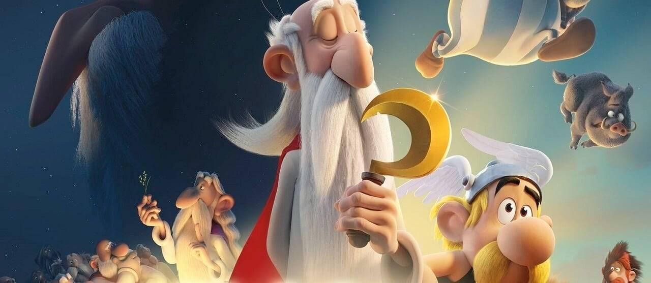 Asterix e il segreto della pozione magica druido Panoramix