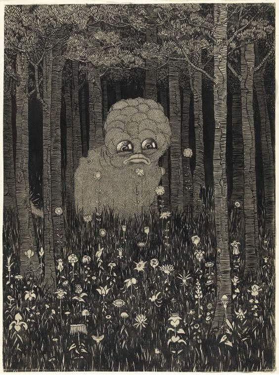 Lord Dunsany. Il libro delle meraviglie e altre fantasmagorie di Dunsany_Mostro nella natura