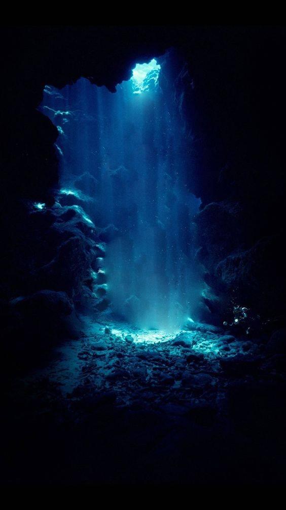 La luce degli abissi di Francess Hardinge_Fondale marino