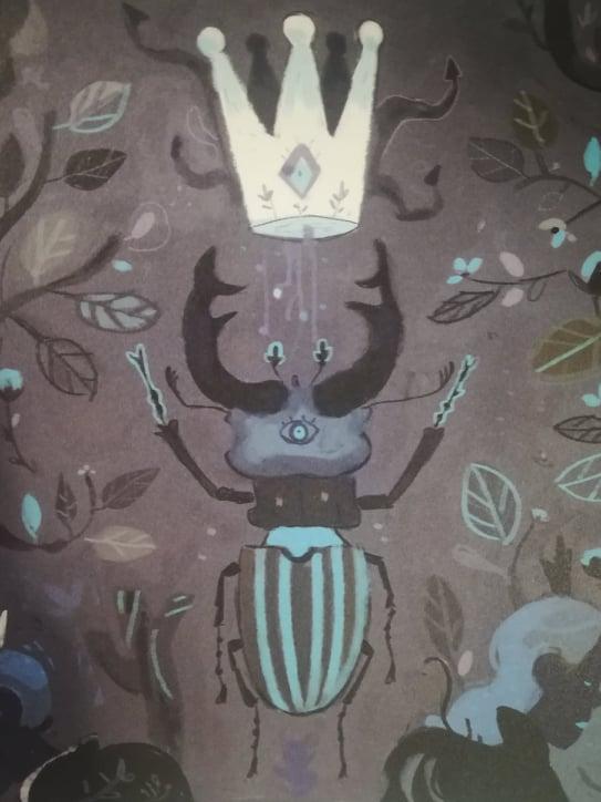 Pelle di mille bestie di Stephane Fert_Disegno di scarabeo