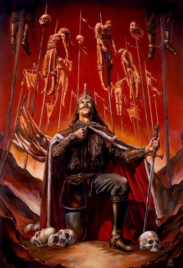 Alla ricerca del Principe Dracula di Kerri Maniscalco_Vlad empalador conde haciendo honor a su apodo