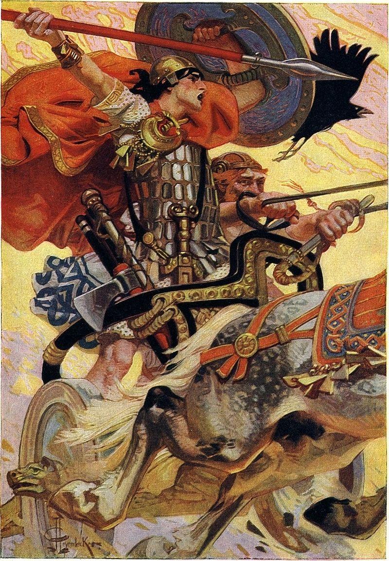 Al di là di Borgo Opaco di Emanuela A. Imineo_Mórrígan mitologia Norrena