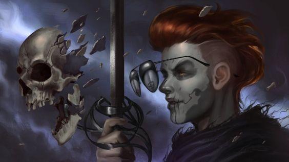 Gideon la nona Gideon scheletro