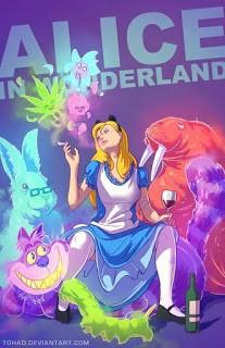 Infelici e scontenti di Alice Chimera_Alice in Wonderland droga