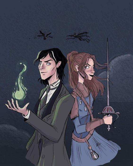 Sorcery of thorns di Margaret Rogerson_Elisabeth Scrivener e Nathaniel Thorn